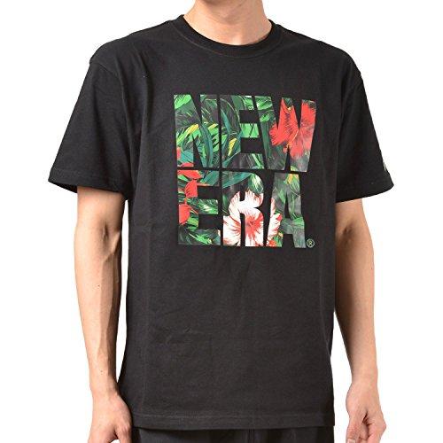 NEW ERA ニューエラ メンズ 半袖 Tシャツ SS-COTTON-TEE-GRN-BOTANICAL-BIGNE