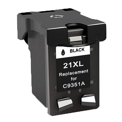 Ouguan® Cartuchos de Tinta remanufacturados HP 21 22 compatibles ...