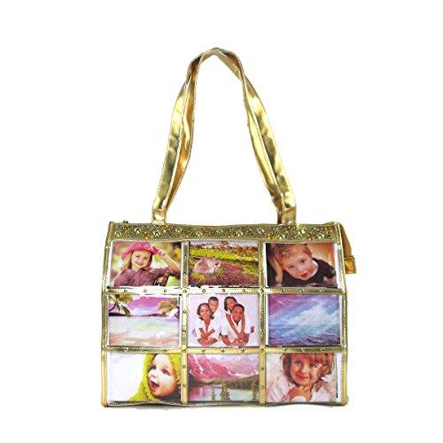 Jewelry Tote (Fashion Metallic Photo Tote Bag with Studs)