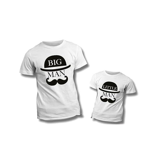 Coppia Di T Shirt Personalizzate Per Padre E Figlio Magliette Per La
