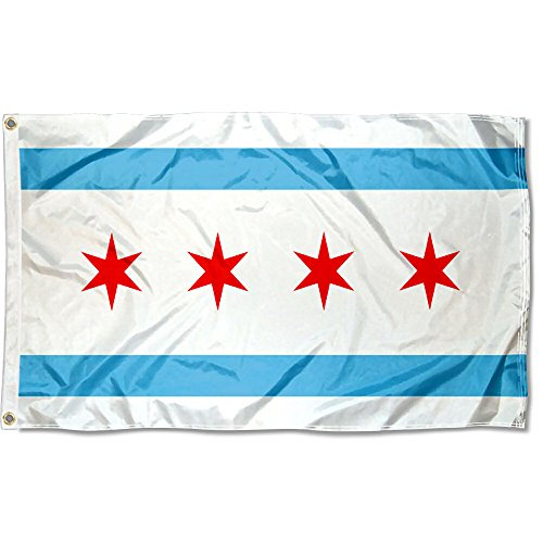Sports Flags Pennants Company City Chicago Flag