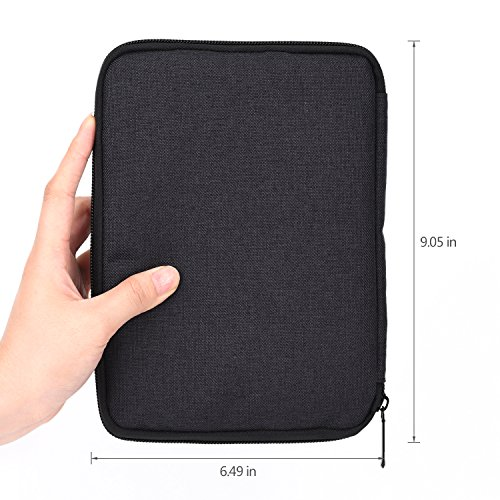 Travel Gadget Organizer Bag Electronics Accessories Storage Carrying Case Universal Cable Organizer for MP3 Player Charger Hard Drive Power Bank