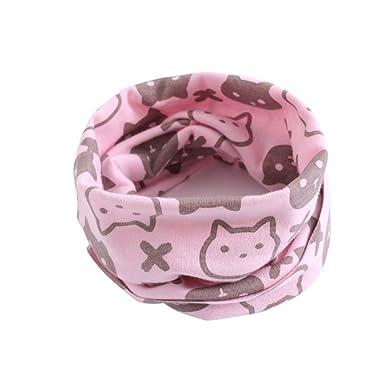 ☆ Bufanda para el Cuello para bebé, Niñas pequeñas Niños Patrón de Animales Costura de la Junta tórica Bufanda del bebé Absolute: Amazon.es: Ropa y ...