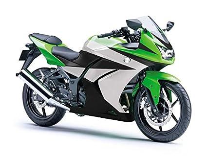 Moto OnFire verde blanco ABS Inyección Molde plástico ...