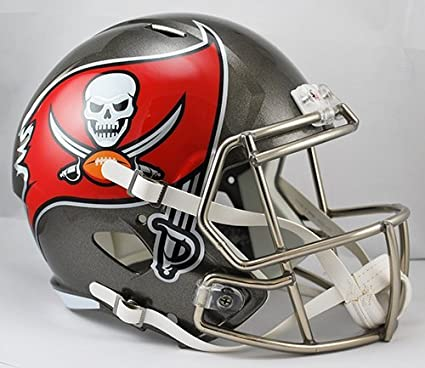 Image Unavailable. Image not available for. Color  NEW TAMPA BAY BUCCANEERS  RIDDELL FULL SIZE DELUXE SPEED REPLICA FOOTBALL HELMET c16f2b23f