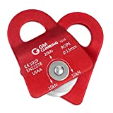 GM CLIMBING UIAA Certified Red Micro Prusik Minding Pulley