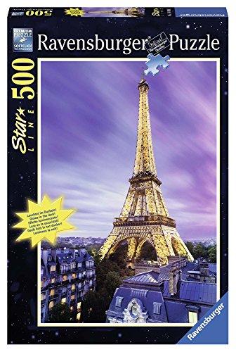 Ravensburger Beautiful Eiffel Tower - Starline Jigsaw Puzzle (500 ()