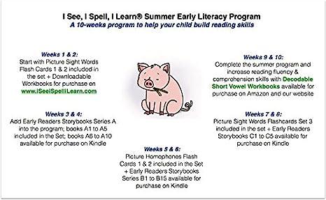 Amazon.com: Early Literacy Set (K-2) - 1 Bundle of Five Early ...
