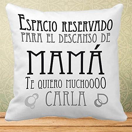 Calledelregalo Regalo Personalizable para Madres: cojín con ...