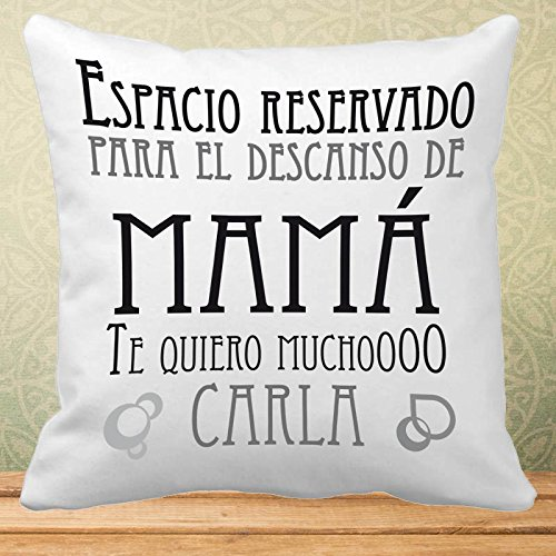 Calledelregalo Regalo Personalizable Para Madres Cojín Con