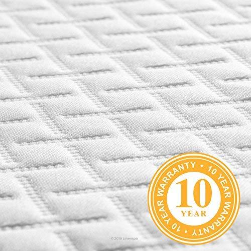 LINENSPA 5 Inch Gel Memory Foam Mattress -  Firm Support - Twin by Linenspa