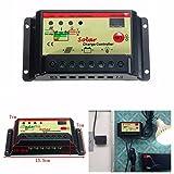 QOJA 10a 12v 24v solar panel battery regulator auto switch charge