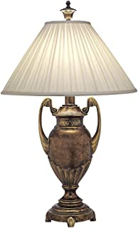product image for Stiffel TL-N8144-ATS One Light Table Lamp, Amber Tortoise Shell Finish with Honey Beige Shade