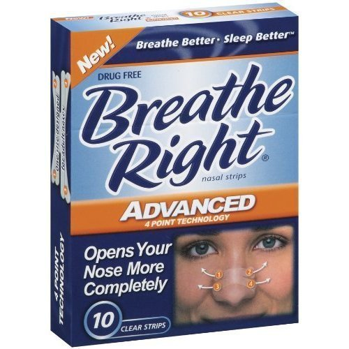 (100 bandes) Breathe Right bandes nasales avancée