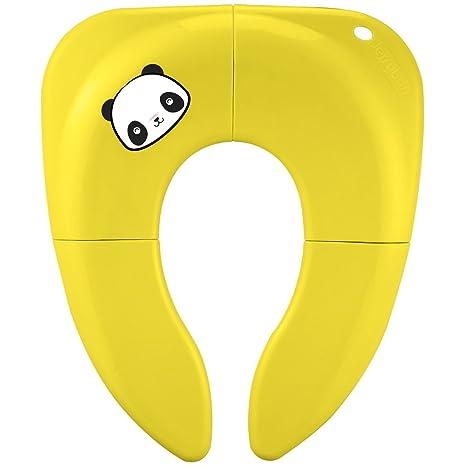 Jerrybox Tapa WC Plegable para Niños, Asiento Inodoro Reductor Infantil como Protector, Orinal de