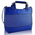 KCMODE Ladies Fashion Tote Shoulder Designer Satchel Handbag - luggage