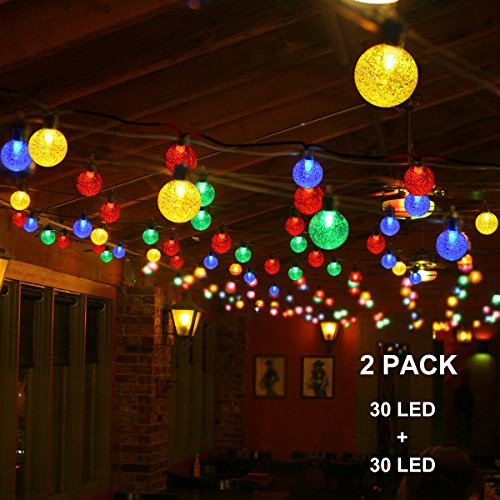 Bamboo Outdoor String Lights
