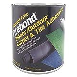 Floor Adhesive, Carpet/Tile, 1 Gal, Beige