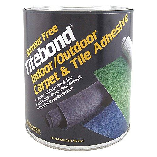 Floor Adhesive, Carpet/Tile, 1 Gal, ()