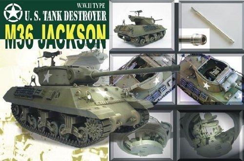 M-36 Jackson WWII Tank Destroyer w/90mm Gun Motor Carriage 1-35 AFV Club