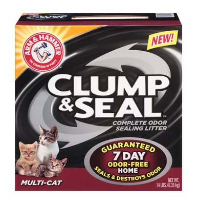 Arm & Hammer Multi-Cat Clump & Seal Clumping Litter 51JRpeESs1L