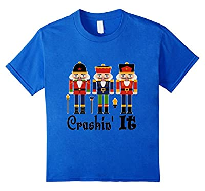 "Funny ""Christmas"" T-Shirt Nutcrackers Crushin It Shirt"