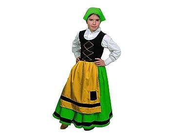 Atosa Disfraz de folklore para niña, talla 4 años ...