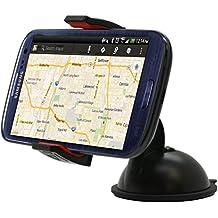 ZEEES GRIPEX Universal Dashboard Windshield Car Mount Holder for Smart Phones, Apple iPhone 6 / 6 Plus / 5 / 5S / 5C / 4 / 4S / 3G, Samsung Galaxy S2 / S3 / S4 / S5, Galaxy NOTE 2, Motorola Droid RAZR / MAXX, HTC EVO 4G, HTC One X, Google Nexus 6, GPS Holder