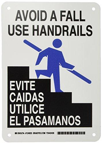Brady 124025 Bilingual Sign, Legend