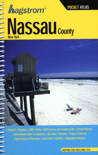 Hagstrom Nassau County, NY Pocket Atlas (Hagstrom Pocket Atlas)