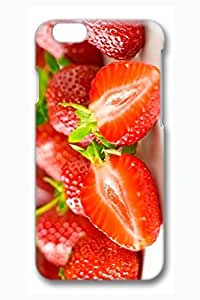 Case Cover For LG G2 3D Fashion Print Drop Protection Case Cover For LG G2 Strawberries Look Scratch Resistant es