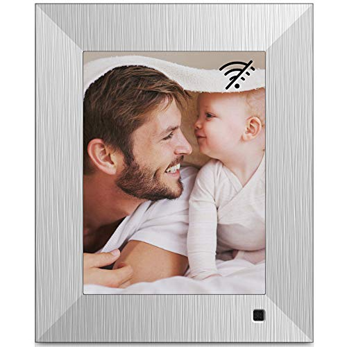NIX Lux 8-Inch Digital Photo Frame X08F