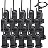 Retevis H-777S Walkie Talkies Rechargeable License-Free Security 2 Way Radio (20 Pack) with Programming Cable