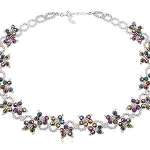 Plata Preciosa collares de cristales