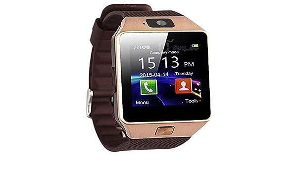 CEKA TECH Meizu M5 C Compatible Reloj Inteligente, Relojes Inteligentes con Bluetooth, Smart Watch, con cámara, Pantalla táctil Curva, Portatarjetas SIM/TF, ...