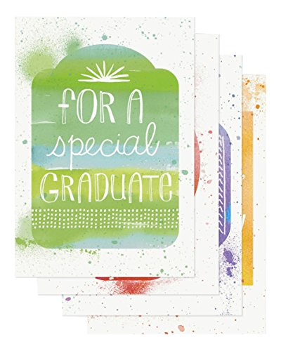 Graduation - Inspirational Boxed Cards - Watercolor