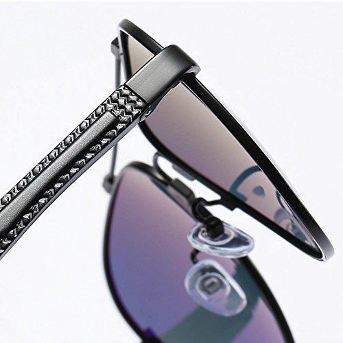 Gray Soleil RPFU De Jambes pour Polarisées Lunettes Homme De Gun Magnésium en Aluminium xggpS