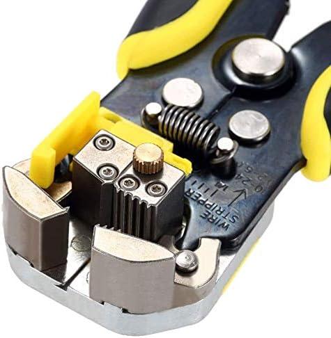 多機能自動調整可能ケーブルワイヤーストリッパーカッター圧着工具剥離プライヤープロフェッショナルDIYを作成するためのヘビーデューティプライヤーセット