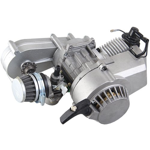 49cc 2 stroke Engine w/Automatic Transmission for SSR SX50, QG50, QG50X and Pocket Mini ATVs Scooters X-PRO