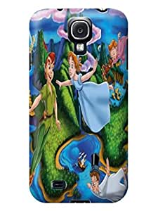 2014 most stylish pattern tpu phone back case cover with texture for Samsung Galaxy s4 of Peter Pan in Fashion E-Mall by icecream design