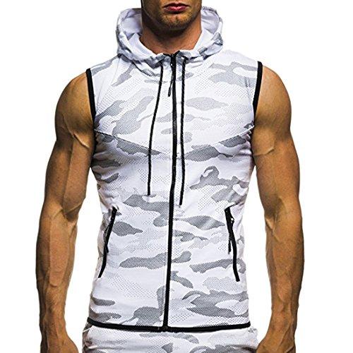 Camisa secado Sudadera Sudadera moichien Sport con Chaqueta Hombre Ai Camo r de ligera cremallera Up7wq4IFxI