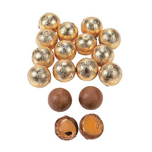 Fun Express - Gold Caramel Chocolate Balls 1lb - Edibles - Chocolate - Non Branded Chocolate - 37 -