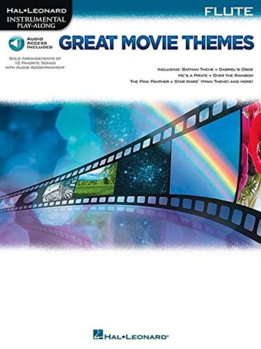 Great Movie Themes: for Flute Instrumental Play-Along (Hal Leonard Instrumental Play-along)