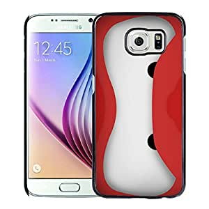 Beautiful Designed Case With baymax battle ready Black For Samsung Galaxy S6 Phone Case