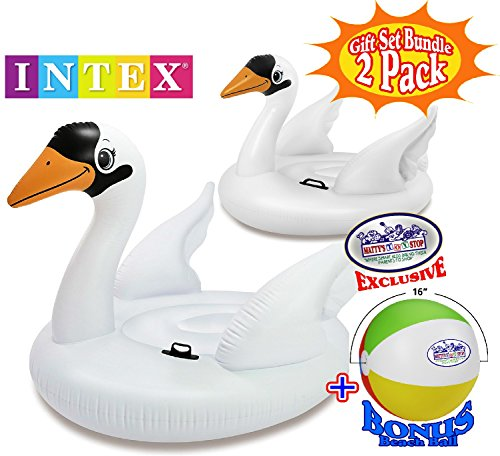 Intex Mega Swan Inflatable Island (76.5