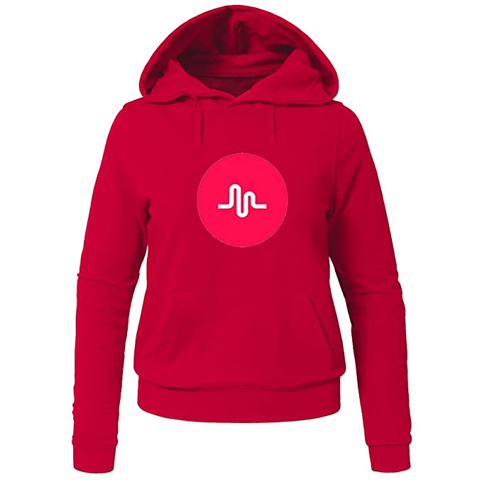 Musically Musical.ly Fan For Ladies Womens Hoodies Sweatshirts Pullover Outlet