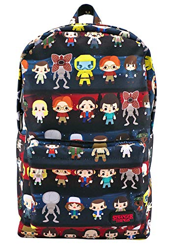 Loungefly Stranger Things Baby Character All Over Print Backpack -
