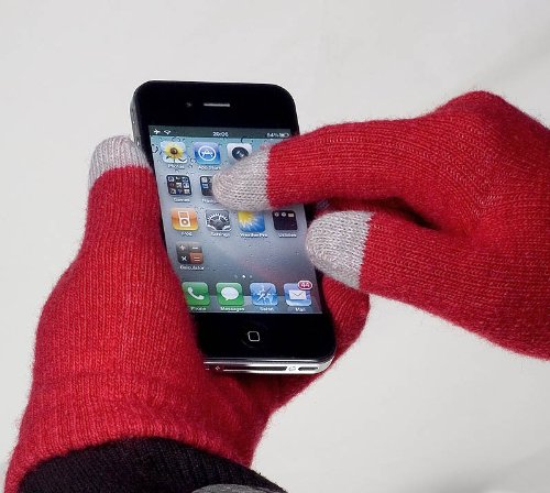 YaYago Écran tactile Gants Taille universelle (env. S–M)–pour Touchlet X10Quad V2