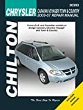 Chrysler Caravan, Voyager, Town & Country 2003-2007 (Chilton's Total Car Care Repair Manuals)