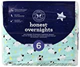 Honest Overnight Diapers, Sleepy Sheep, Size 6, 21 Count